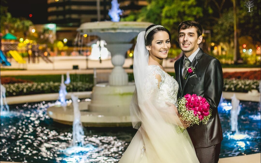 Maria Eduarda e Júnior